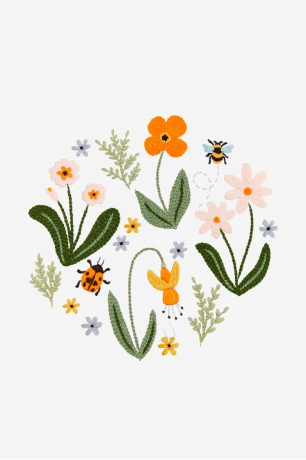 Woodland Flowers - Pattern