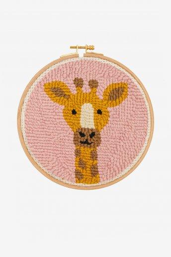 Girafa - Punch Needle