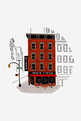 Pizzeria Newyorkese - SCHEMA GRATUITO