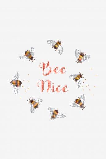 Bee Nice - schema punto croce