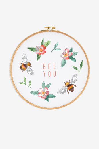 Bee You - schema punto croce