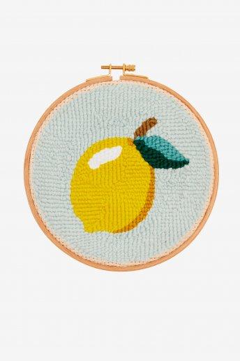 Limone  - punch needle