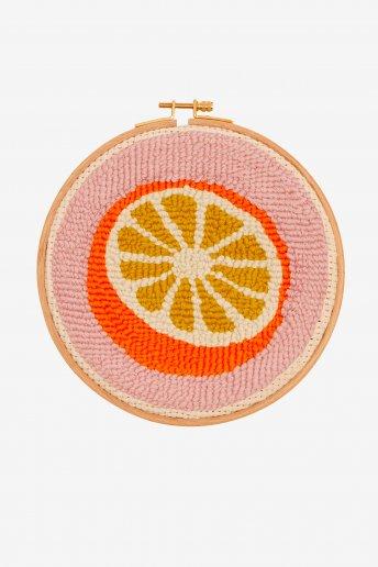 Arancia  - punch needle