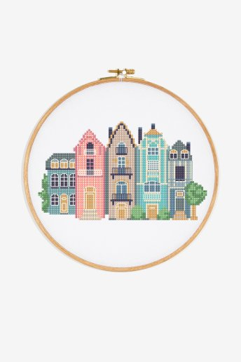 City Houses - Pattern