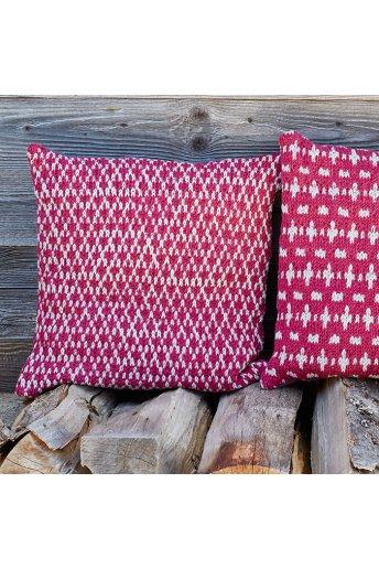 Modello tricot Plume cuscino