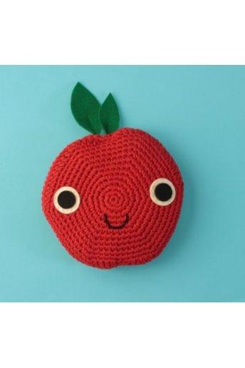 Modello crochet cuscino mela