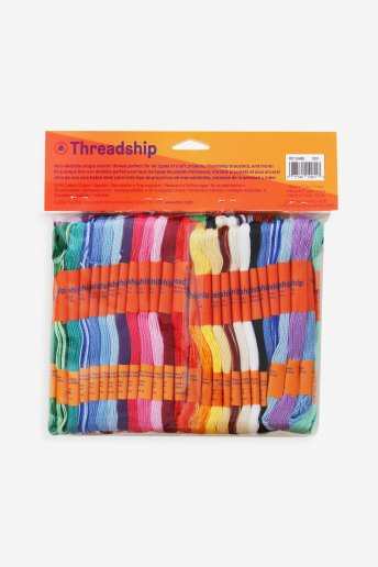 Pack of 105 non-divisble skeins - Assorted colors