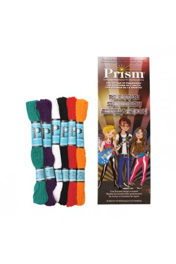 ROCK STARS - Mini pack of 6 skeins