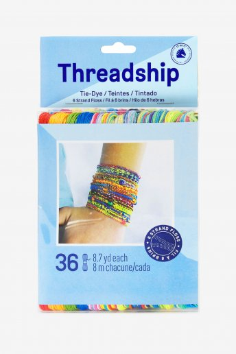 Pack of 36 stranded thread skeins -