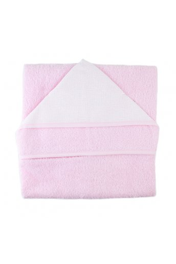 Hooded Towel Pink