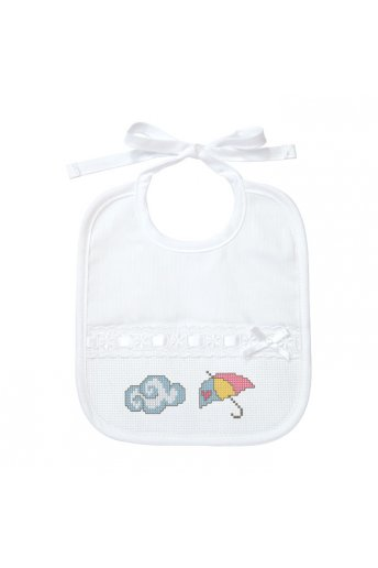 Christening bib to stitch