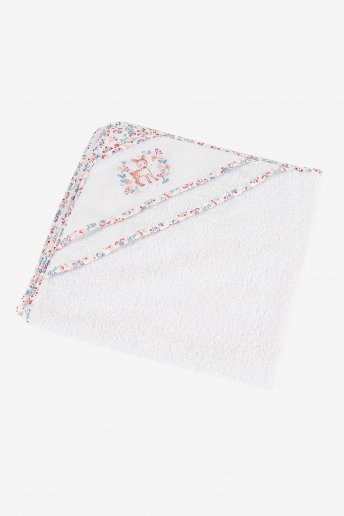 Folk Baby Bath Towel