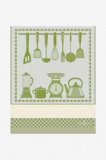 Geschirrtuch zum Besticken Küchenutensilien