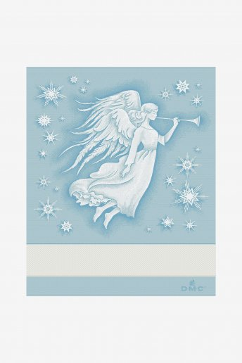ANGEL PATTERN STITCHABLE TOWEL