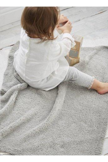 Modelo Teddy Manta unicolor para bebé - Explicações grátis