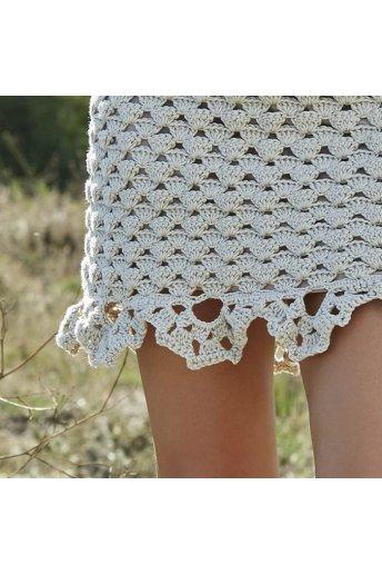 Modello crochet Salomé abito