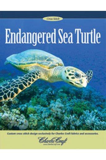 Sea Turtle Cross Stitch Leaflet