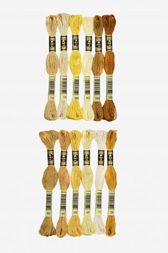 Blonde Hair by Stitch People