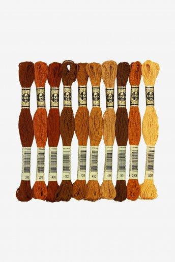 Auburn Hair by Stitch People