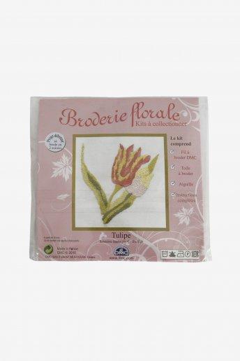 Kit broderie florale la tulipe tb033e