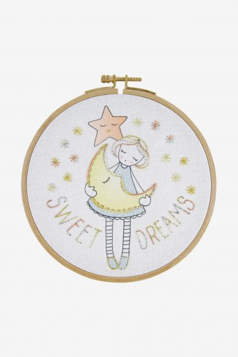 Sweet dreams junior embroidery kit