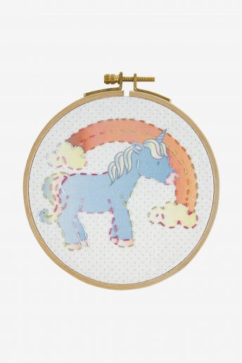 La licorne kit broderie junior