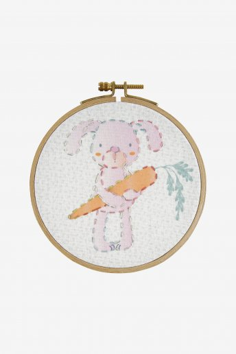Bunny Kids Embroidery Kit