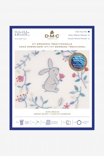 Dreamy Bunny Hand Embroidery Kit