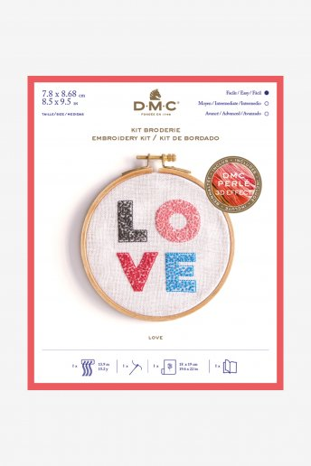 Love Emboidery Kit