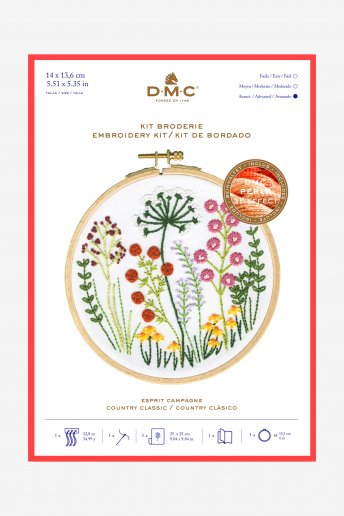 Rustic Countryside Embroidery Kit