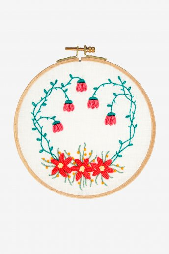 Bougainvillea Garden Embroidery Kit