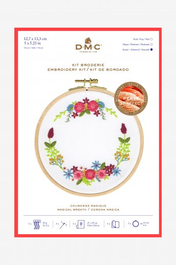 Magical Wreath Embroidery Kit