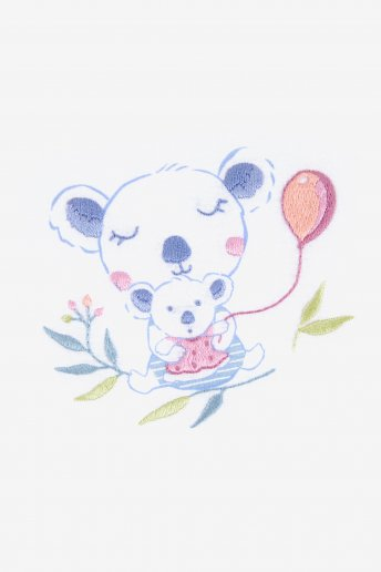 Lucas der Koala - Stickset