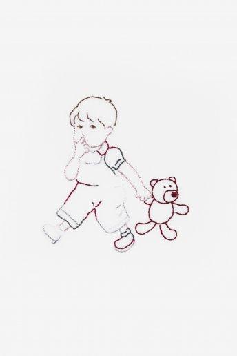 Mini kit teddy fil coloris