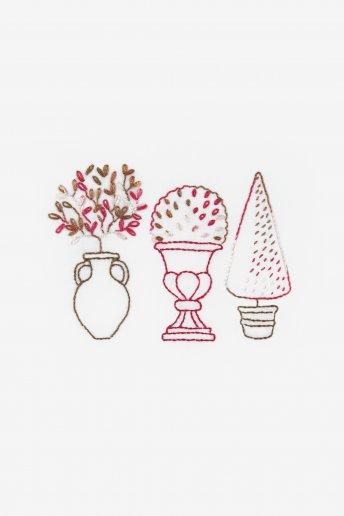 Mini kit jardin d'ornement fil coloris