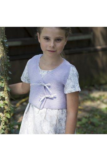 Modello tricot Thadine top malva