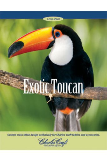 Toucan Cross Stitch Leaflet