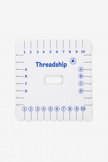 Threadship® Square Kumihimo Tool