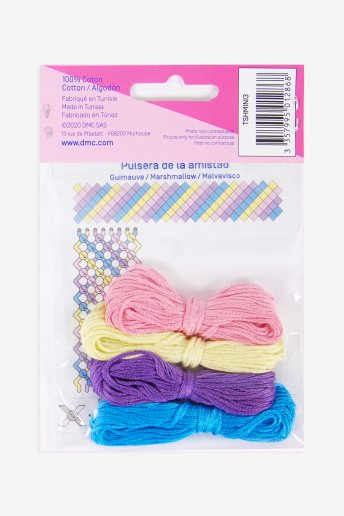 "Beginner Friendship Bracelet Kit ""Marshmallow"""