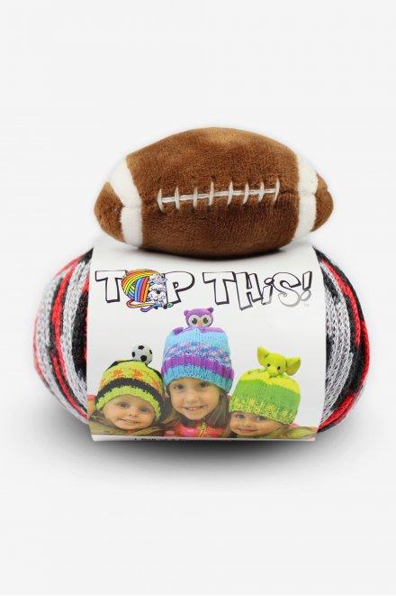 DMC Top This!® Black & Red Football Hat