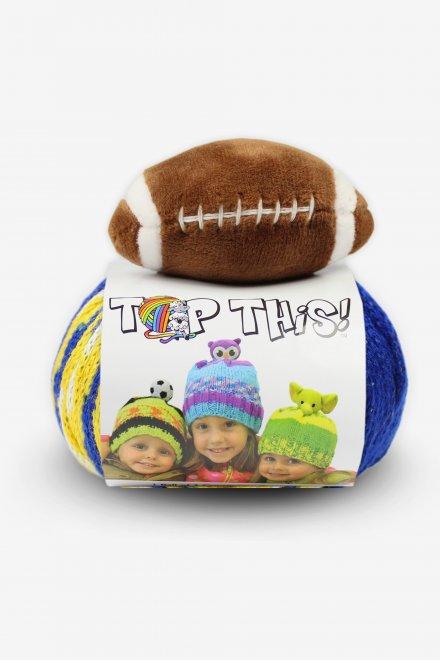 DMC Top This!® Blue & Gold Football Hat