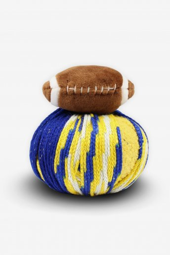 DMC Top This!® Blue & Gold Football Hat