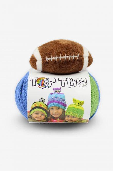 DMC Top This!® Green & Blue Football Hat