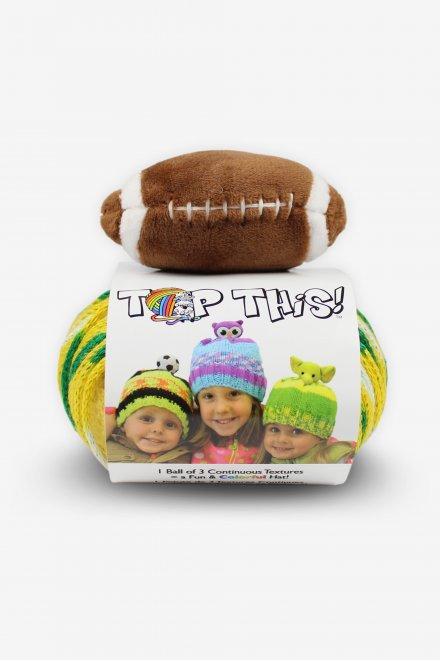 DMC Top This!® Green & Gold Football Hat