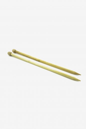 バンブー棒針10mm(Bamboo Knitting Needles)