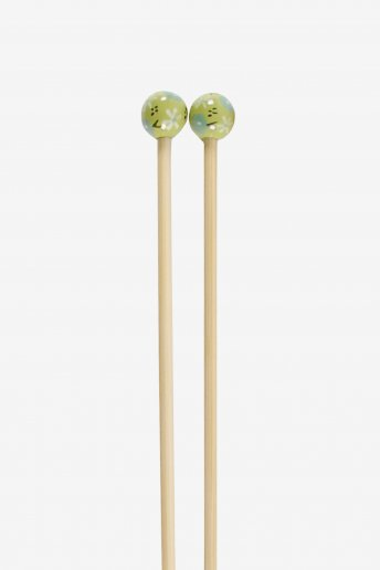 Bamboo knitting needles size 45