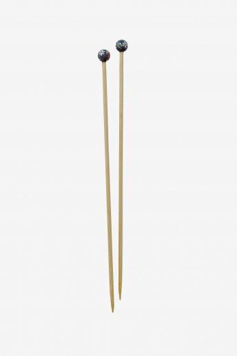 Agulhas de tricô em bambu pintadas à mão art. u1754/6
