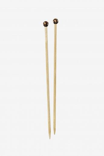 Bamboo knitting needles size 9