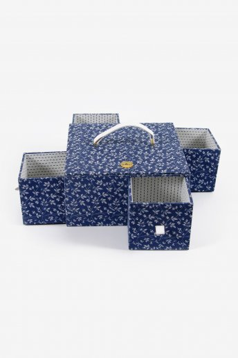 Boite couture ou vide poche 25 x 25 x 12.5 cm