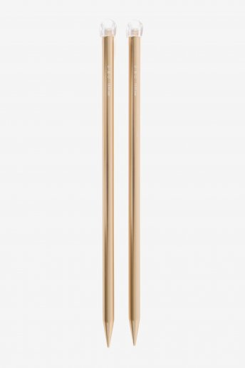 15 mm Rose Gold Knitting Needles
